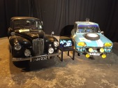Richard Hammond's Lanchester (Left) from the Classic Car Rally Challenge. James May's Citroen (Right)