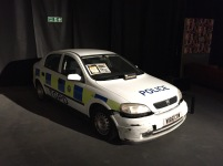 "The Police Car featured in the ""Hot Hatch"" challenge."