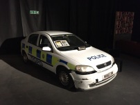 """The Police Car featured in the """"Hot Hatch"""" challenge."""
